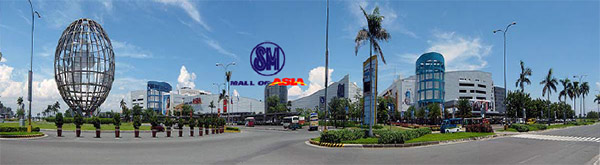 sm mall of asia complex existing developments