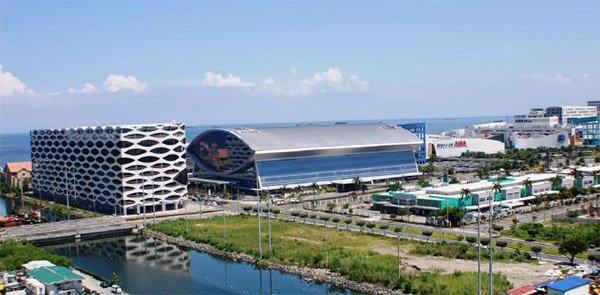 SM Sports Arena and Mall of Asia carpark building