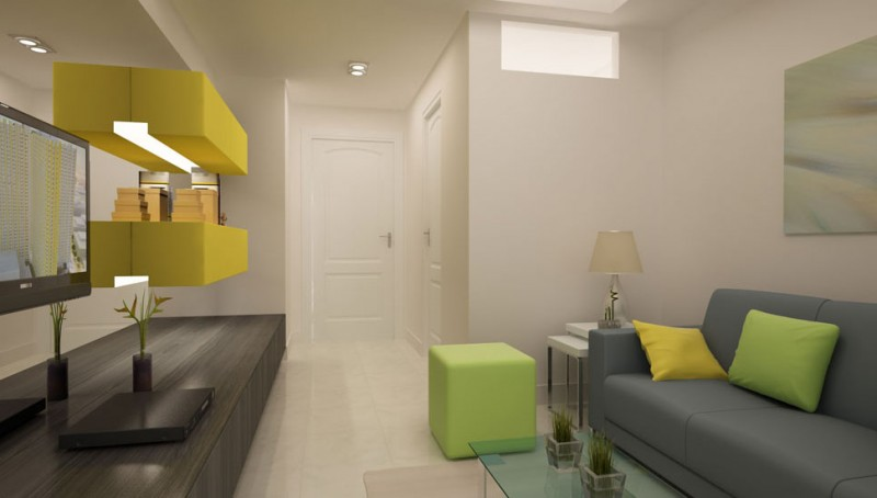SMDC Sun Residences Condominium Philippines - Living Area