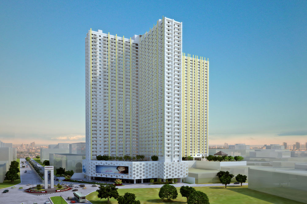 SMDC Sun Residences Condominium Philippines - Project Perspective