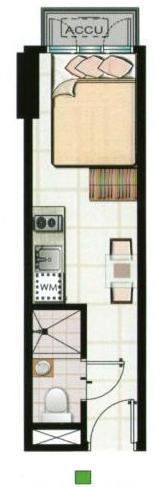 green residences studio suite B