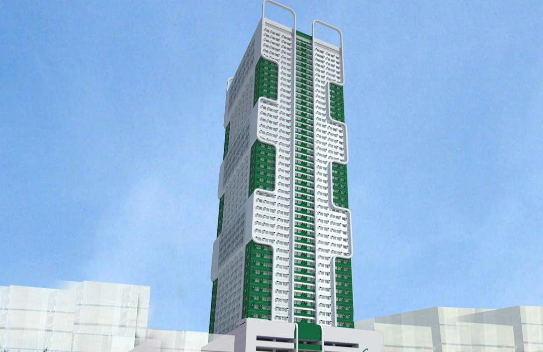 smdc green residences building facade
