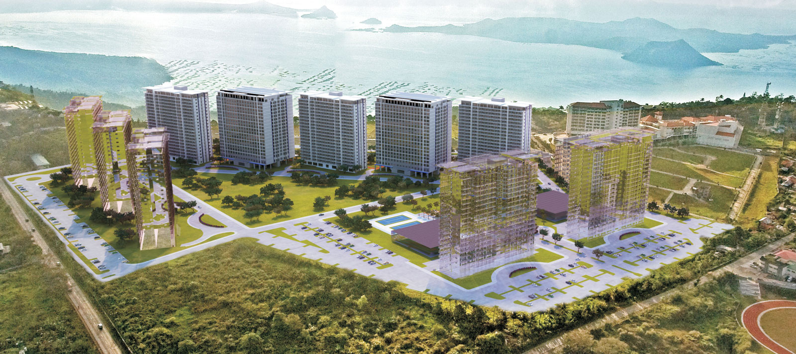 smdc wind residences - tagaytay, philippines - development plan