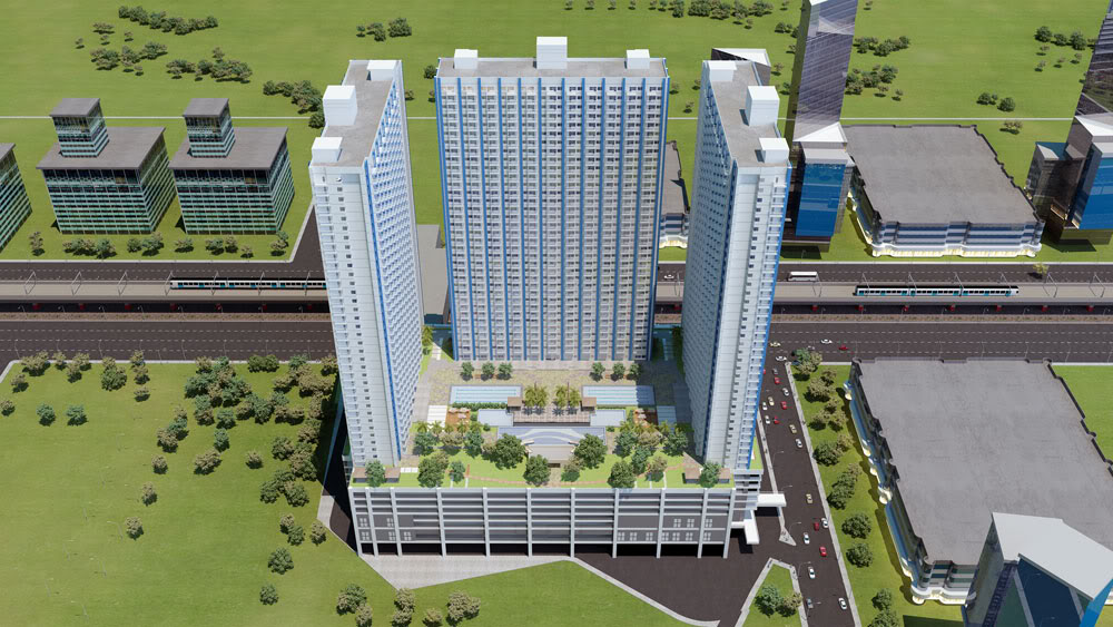 SMDC Light Residences Condominium - Project Perspective