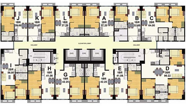 Signa Designer Residences - Floorplan 2