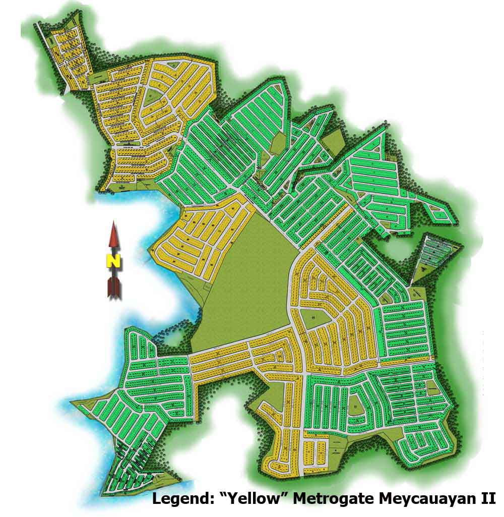 Metrogate Meycauayan II - Site Development Plan