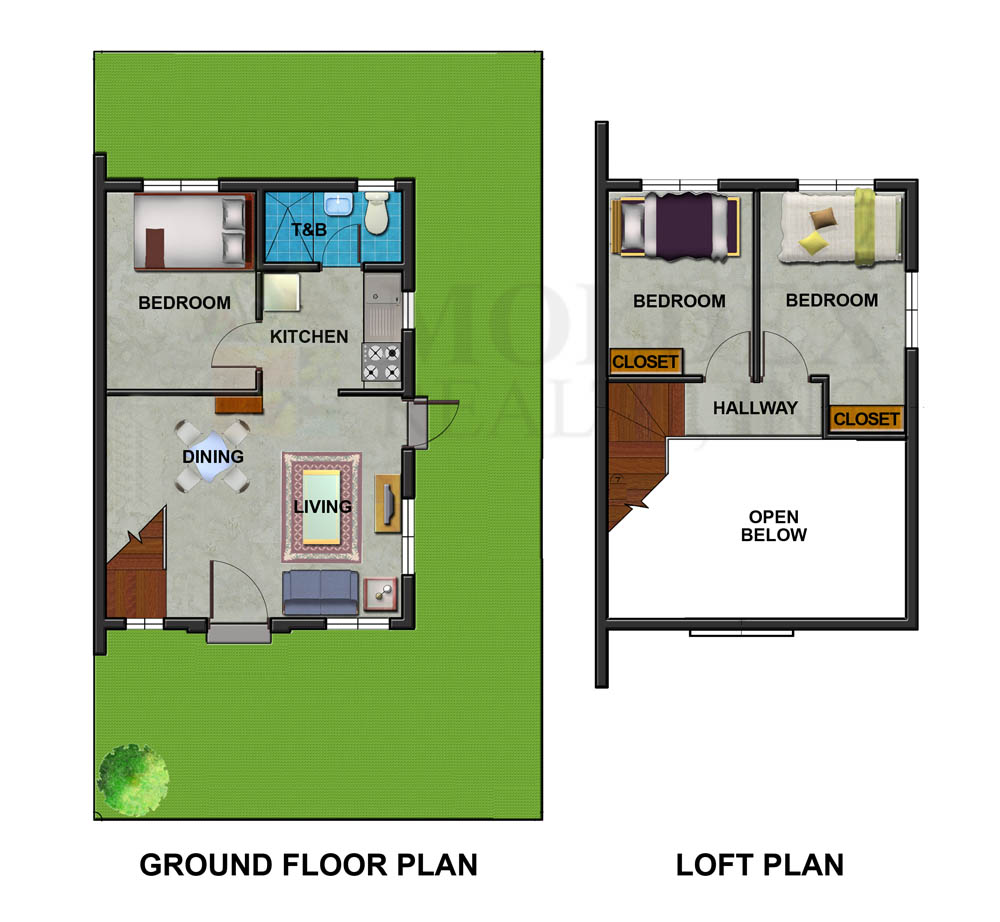 Jamila House Model floor plan