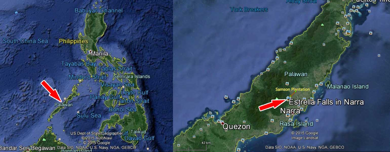 plantation for sale - map