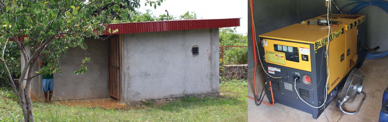 plantation for sale - power generator house