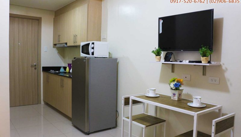 1BR Fully furnished condo unit in Roxas Blvd.