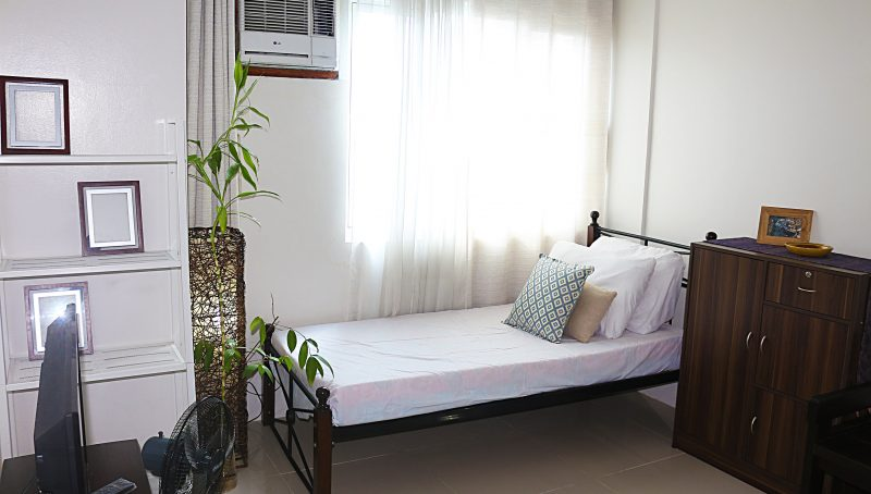 studio apartment in Katipunan