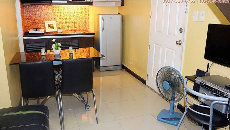 2BR loft condo for rent; Taft units for rent