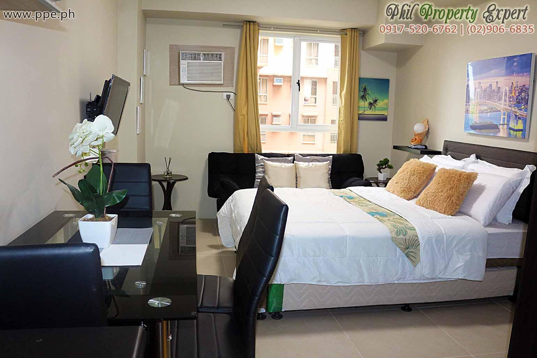 paranaque city short term rental studio unit condominium