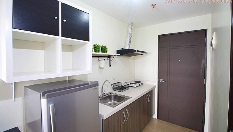 Studio Unit for Rent in Quezon City, Philam Area - Vinia Residen