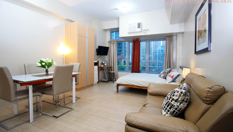 Rent chic studio apartment in Eastwood Quezon City