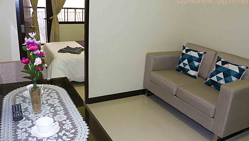 Rent fully furnished 1 bedroom unit in 46th floor Admiral Baysuites Malate Manila