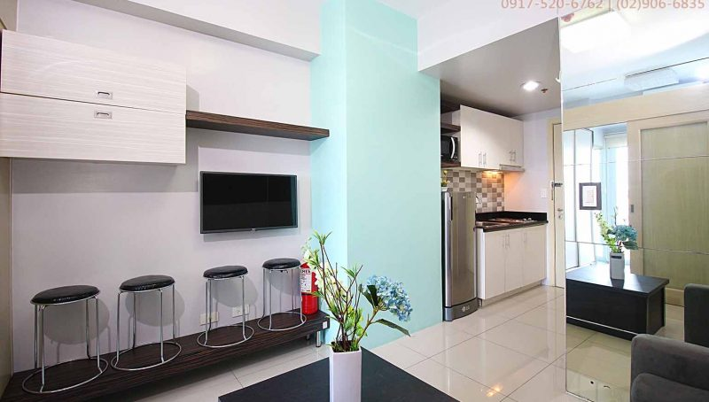 Rent 1 bedroom fully furnished in Jazz Residences Makati Metro Manila