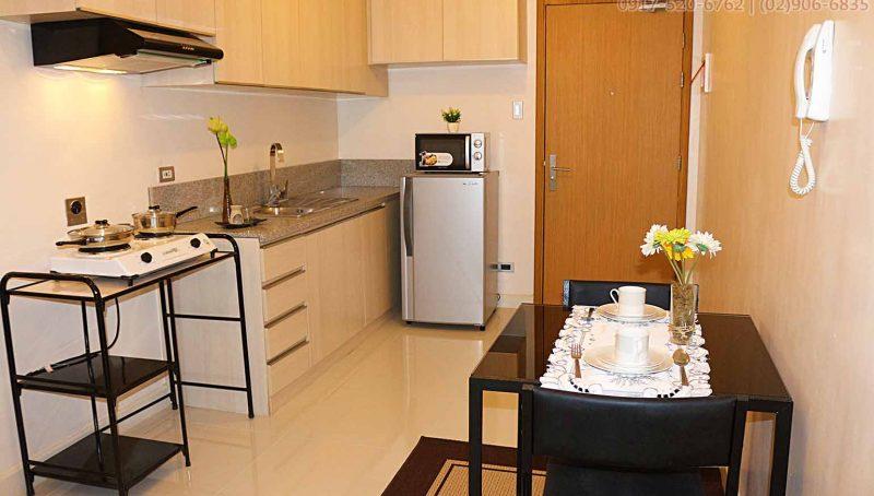 Fully furnished 1 bedroom rent in Signa Designer Residences Makati City